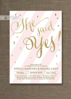 free printable engagement party invitations templates …  pinteres…, party invitations