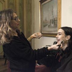 model: Mariana Braga - makeup artist: Arianna Campa