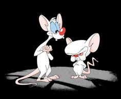 elmira cartoon pics | Pinky y Cerebro era una formula ganadora y llego a convertirse en una ...