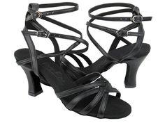 Ladies Very Fine C Series C5009 Black Leather
