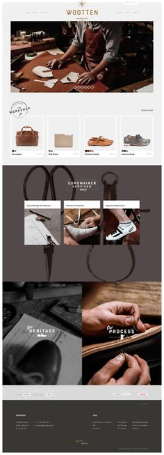 Wootten | Cordwainer and Leather Craftsmen    http://wootten.com.au/
