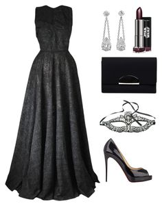 """""""Queen"""" by little-princess712 ❤ liked on Polyvore featuring Joana Almagro, Christian Louboutin, Chicnova Fashion, Maison Margiela, women's clothing, women's fashion, women, female, woman and misses"""