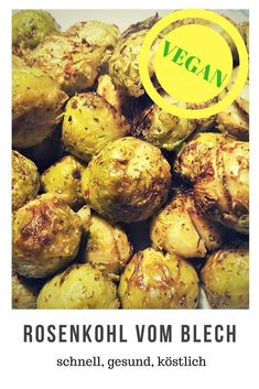 vegan Brussels sprouts quick delicious side dish scheduled via vegane Beilagen Healthy Brussel Sprout Recipes, Shredded Brussel Sprout Salad, Healthy Salad Recipes, Vegan Recipes, Chicken Meal Prep, Roasted Garlic Brussel Sprouts, Brussels Sprouts, Side Dishes Easy, Risotto