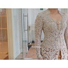 Vera Kebaya, Kebaya Lace, Kebaya Brokat, Kebaya Dress, Batik Kebaya, Kebaya Kutu Baru Modern, Kebaya Wedding, Wedding Dress, Big Size Models