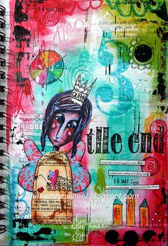 Art Journal - The End   Flickr - Photo Sharing!