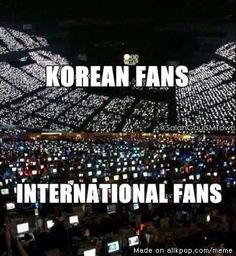 Yeah we int. fans pretty much live in front of the computer screen