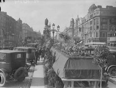 Dublin Street, Irish Catholic, Irish Roots, Ireland Homes, Dublin Ireland, Old City, Historical Photos, Old Photos, Past