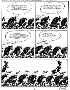 franquin-idees-noires-2 | Lattaland | André Franquim in 2019 | Comic layout, Comic books art ...