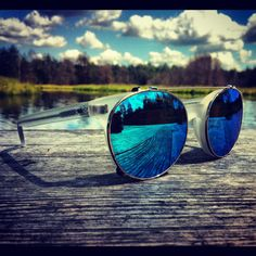 Everything is #blue in custom Dr Strange Love clip #mirror #sunglasses