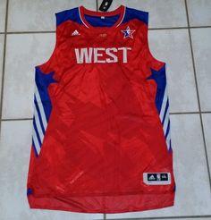 Rare NWT ADIDAS 2013 NBA All-Star WEST Jersey Men s 5XL  adidas  ALLSTARWEST 06b147609
