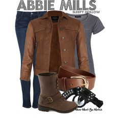 Inspired by Nicole Beharie as Abbie Mills on Sleepy Hollow.