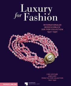 Luxury for Fashion: Interrnationaler Modeschmuck der Fior Collection, 1950-1990 Fine Costume Jewellery from the Fior Collection, 1950-1990 by Adelheid Rasche http://www.amazon.co.uk/dp/3733803922/ref=cm_sw_r_pi_dp_D4EIvb1YBXD9F