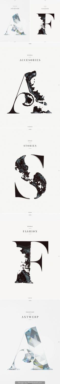 Horse Magazine Typography