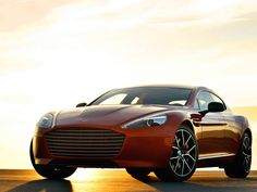 Aston Martin Rapide S debuts as the brand's most powerful four-door sports car