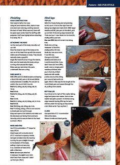 Gift presents: Mr fox stole tutorial, kids craft ideas ~ Craft , handmade blog