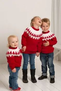 Christmas Knitting, Christmas Sweaters, Knitting For Kids, Baby Knitting Patterns, Kids And Parenting, Lana, Jumper, Free Pattern, Style