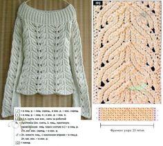 ciekawy szalik na drutach - Szukaj w Google