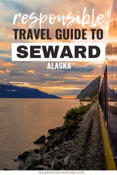 Planning to travel to Alaska? Here's the ultimate responsible travel guide to Seward Alaska including all the best things to do in Seward from a local. I sustainable travel I things to do in Alaska I USA travel I what to do in Alaska I where to go in Alaska I places to go in Alaska I how to travel Alaska I outdoor activities in Alaska I visit Alaska I Alaska travel I Alaska destinations I Alaska outdoor adventures I Alaska adventures I adventures in Alaska I hiking in Alaska I #Alaska… Usa Travel Guide, Travel Usa, Travel Guides, Travel Tips, Alaska Destinations, Cool Places To Visit, Places To Travel, Places To Go, Seward Alaska