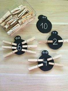 Lernspiele aus Filz – Bastelideen Kinder Educational games made of felt – Category: Bastelideen Kinder This image. Preschool Learning Activities, Preschool At Home, Preschool Classroom, Learning Games, Toddler Activities, Preschool Activities, Teaching Kids, Educational Games, Learning Numbers