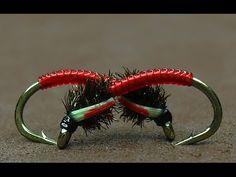 Tying a Bloodworm Buzzers by mak-flies - YouTube