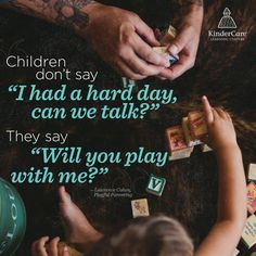 From Lawrence Cohen - Playful Parenting This hit me hard this morning. My kids always ask to play. Gentle Parenting, Kids And Parenting, Parenting Hacks, Peaceful Parenting, Parenting Plan, Conscious Parenting, Parenting Styles, New Energy, Raising Kids