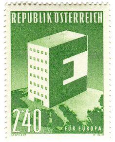 Austria postage stamp: Europa by karen horton, via Flickr