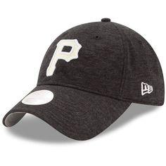 1094e787e76 Women s Pittsburgh Pirates New Era Black Team Multi Tone 9TWENTY Adjustable  Hat