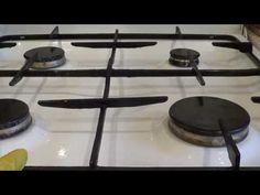 Как почистить решетку газовой плиты от нагара и жира народными способами?   Полезные советы