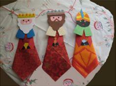 Un proyecto original, divertido y pensado para hacer con los niños. Unos servilleteros de Reyes Magos que servirán para decorar las mesas cuando os estéis comiendo el roscón.