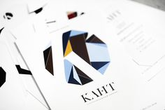 KAHT bookstore by Anna Demidova, via Behance