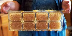 No comb cutting is required. After the bees have filled the cavities with comb honey, the packs can be easily separated from the frame and fitted with a snap-on lid.