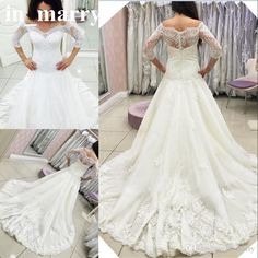 Sexy Vintage Lace Mermaid Berta Wedding Dresses 2017 Trumpet Style Off Shoulder 3/4 Long Sleeves Beach Country Plus Size Arabic Bridal Gown 2017 Wedding Dresses Plus Size Wedding Dresses Arabic Wedding Dresses Online with $238.86/Piece on In_marry's Store | DHgate.com