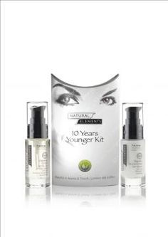 Natural Elements - The original 10 Years Younger Kit (with Rejuvenating Face Cream), £46.99 (http://www.naturalelementsskincare.com/the-original-10-years-younger-kit-with-rejuvenating-face-cream/)
