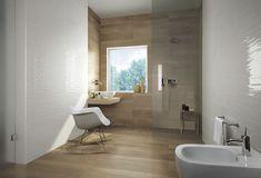 Bathroom tile / kitchen / wall / porcelain stoneware - LUMINA : WHITE LINE - FAP ceramiche