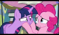 Pinkie pie and twilight