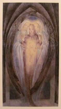 Sulamith+Wulfing+Christmas+ | ... for Birthing the Divine Child Draws Near (artwork by Sulamith Wulfing