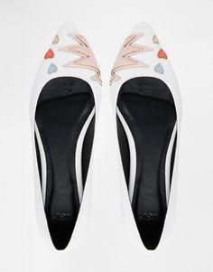 Image 3 ofASOS LIKE A PRO Ballet Flats