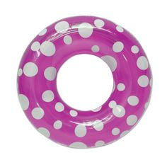 "Poolmaster 36"" Polka Dot Swimming Pool Tube"