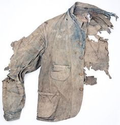 View top-quality stock photos of Extremely Damaged Denim Jacket. Find premium, high-resolution stock photography at Getty Images. Shabby Look, Textiles, Ying Gao, Indigo, Hansel Y Gretel, Antique Clothing, Vintage Denim, Wearable Art, Work Wear