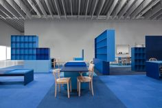 blue room architecture archdaily http://www.archdaily.com/281988/social-01-vmx-architects-i29-l-interior-architects/