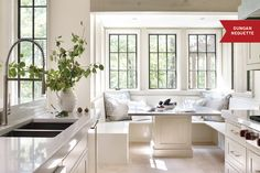 14 Well Crafted Kitchens Featuring White Cabinetry: http://www.deringhall.com/daily-features/contributors/dering-hall/14-well-crafted-kitchens-featuring-white-cabinetry