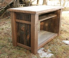 Rustic Reclaimed TV Media Entertainment Stand by EchoPeakDesign, $350.00