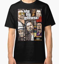 Big Lebowski jackie the treehorn dude gildan Black T-Shirt Size S-XXXL #Handmade #BasicTee