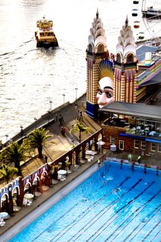 Luna Park and the North Sydney Pool