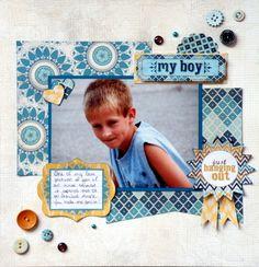 My Boy - Scrapbook.com  #My Mind's Eye