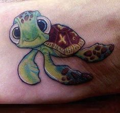 Completely Awesome Disney Tattoos - Part of Your World   Guff