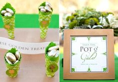 adorable favors for St. Patrick's Day