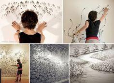 Amazing Finger Drawings Art by Artist Judith Braun ...