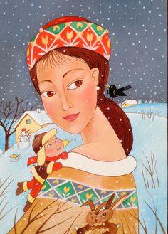 Paní zima Panama, Princess Zelda, Illustration, Fictional Characters, Art, Art Background, Panama Hat, Kunst, Illustrations