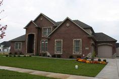 Red Brick Home Exterior